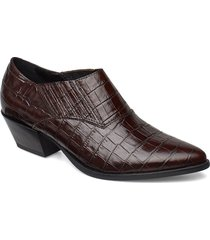 emily shoes boots ankle boots ankle boots with heel brun vagabond