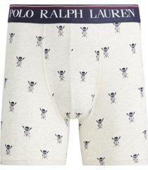 polo ralph lauren men's printed stretch boxer briefs
