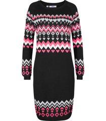 abito in maglia (nero) - bpc bonprix collection