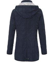 gewatteerde jas met staande kraag van fuchs & schmitt blauw