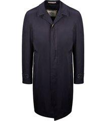 herno concealed long coat