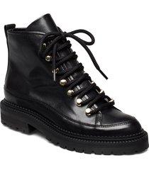 boots 3550 shoes boots ankle boots ankle boots flat heel svart billi bi