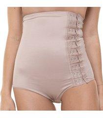 cinta modeladora alta envelope pós-cirúrgica feminina