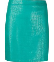 andamane bertha slim-fit skirt - green