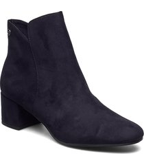 woms boots shoes boots ankle boots ankle boots with heel blå tamaris