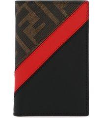 fendi ff diagonal wallet