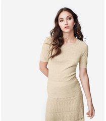 maglia in lino e cotone