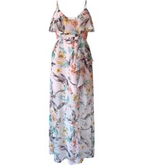 bcbgeneration aloha floral maxi dress