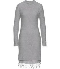 abito in maglia con pizzo (grigio) - rainbow