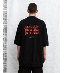 t-shirt giant tee black