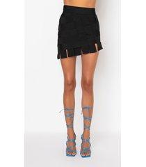 akira try it bandage mini skirt