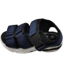 sandalia velcro azul vinnys outlet