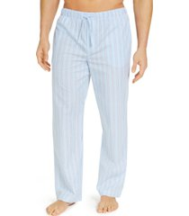 club room men's striped cotton pajama pants, created for macy's