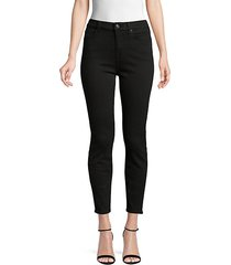 gwenevere high-waist cropped skinny jeans