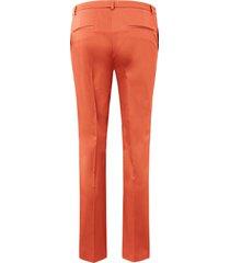enkellange broek persplooien van fadenmeister berlin oranje