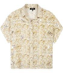 mini zebra blouse 203984586-002
