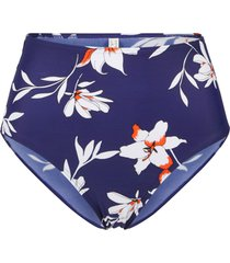 slip sostenibile per bikini a vita alta (blu) - bpc bonprix collection