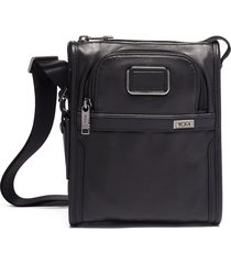men's tumi small pocket crossbody bag - black