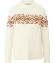 trui met lange mouwen en turtleneck van portray berlin wit