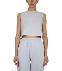 t by alexander wang cropped t-shirt