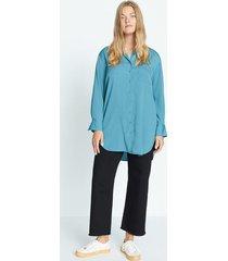 lange soepelvallende blouse