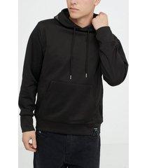sixth june hoodie with iridescent print tröjor black