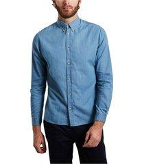 klark chambray cotton shirt