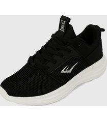 tenis lifestyle negro-blanco everlast seven-c2