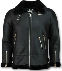 leren jas z design lammy coat winterjas