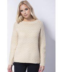 sweter honeycomb