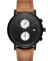 zegarek makonnen wit camel chronograf