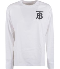 burberry logo chest sweatshirt