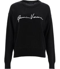 versace gv signature sweater