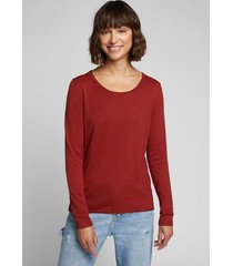 sweater mujer liso terracota esprit
