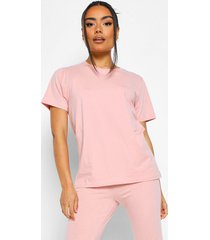 basic mix & match pyjama top, blush