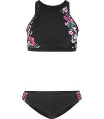 bikini a bustier (set 2 pezzi) (nero) - bpc bonprix collection
