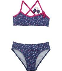bikini azul mare moda nena liberty one