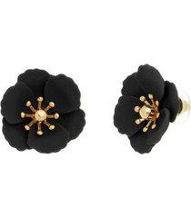brinco piuka flor petunia feminino - feminino