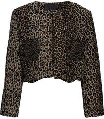 ghost jacket blazers bouclé blazers brun diana orving