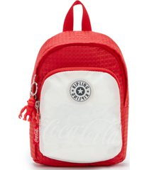kipling coca-cola delia compact convertible backpack