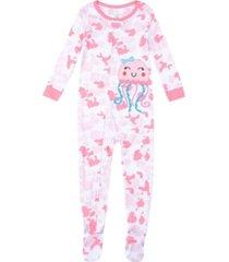 baby girls tie dye footie pajamas