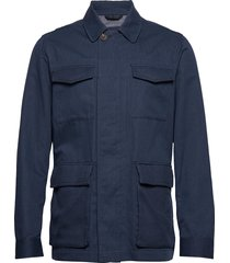 herringb field jkt dun jack blauw hackett london
