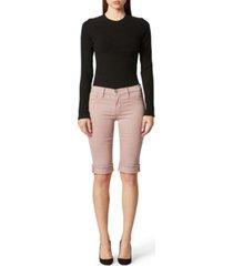 hudson jeans amelia cuffed bermuda shorts