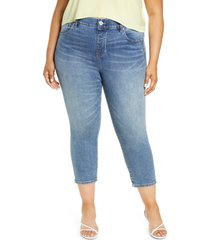 jag jeans valentina high waist crop jeans, size 16w in fire island at nordstrom