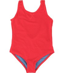 duskii girl yara textured swimsuit