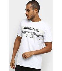 camiseta ecko básica estampada e907a masculina - masculino