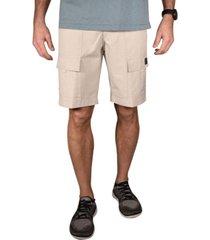 men's space dye slub outdoor shorts