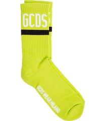 gcds logo low socks