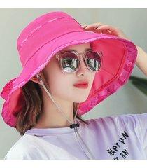 cappello estivo a tesa larga da donna, cappello da vacanza, cappellino carino, cappellino a forma di fiocco, cappellino