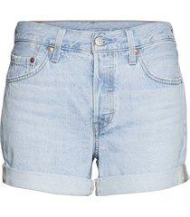 501 rolled short luxor erosion shorts denim shorts blå levi´s women
